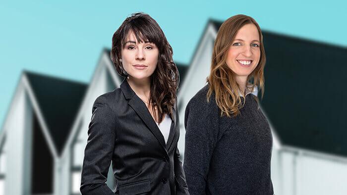 Frauenpower Meilenstein mit Geschäftsleitung